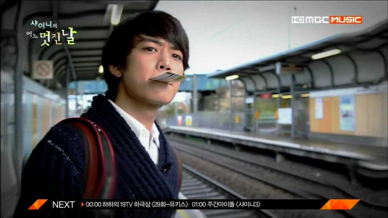 Download SHINee`s one fine day #09 Minho cut - Minho loves football!!