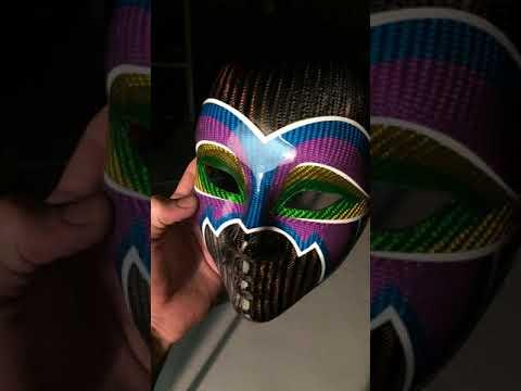 Carbon Fiber mask by CFA