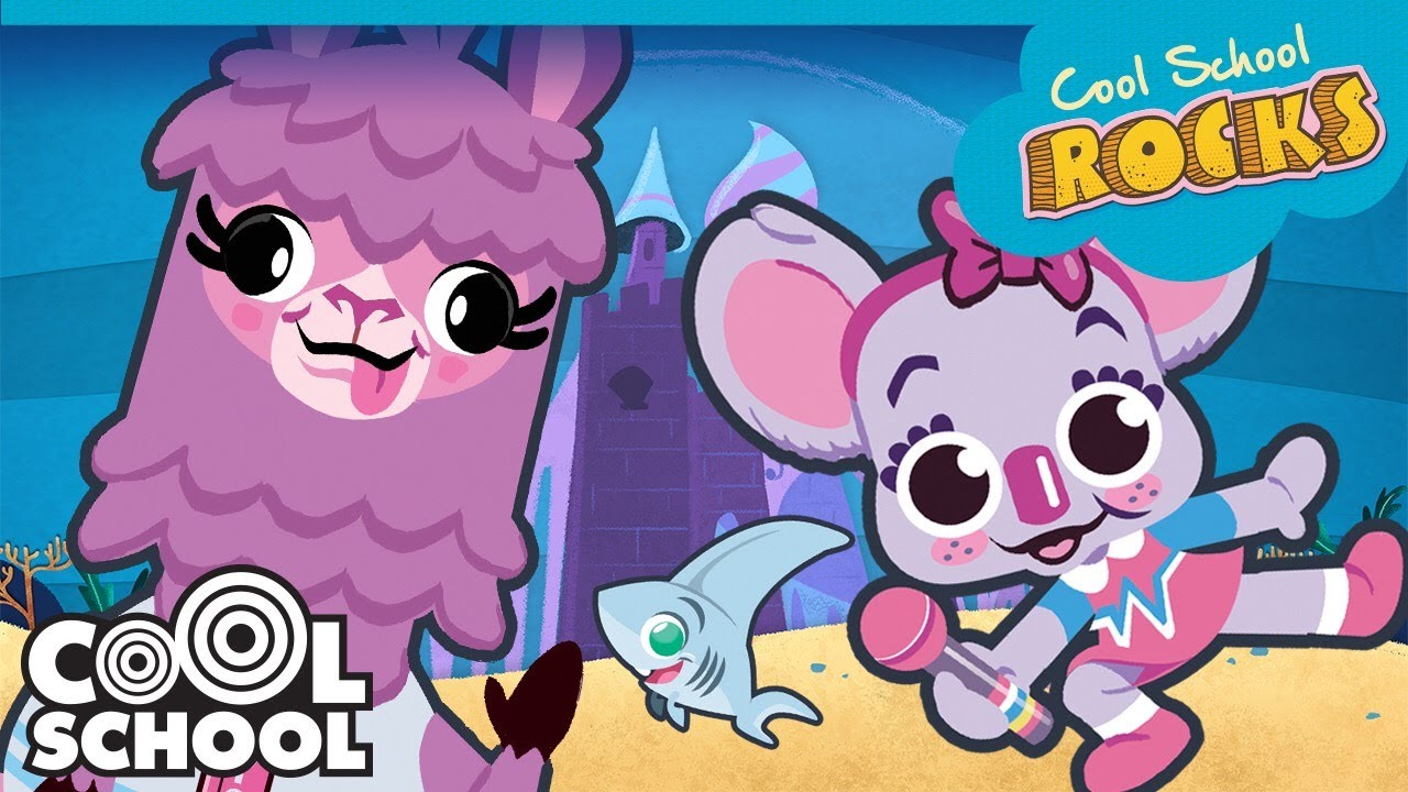 Baby Shark ALL THE MUSIC!!   Cool School Rocks     Rock, Hip Hop, Island, Pop Music and More!