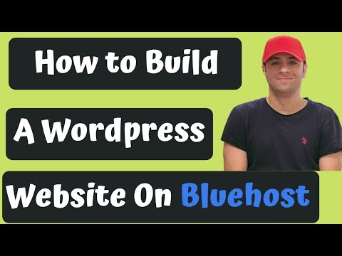 How To Build A WordPress Website In Bluehost 2020 [Made Easy- Drag N Drop]