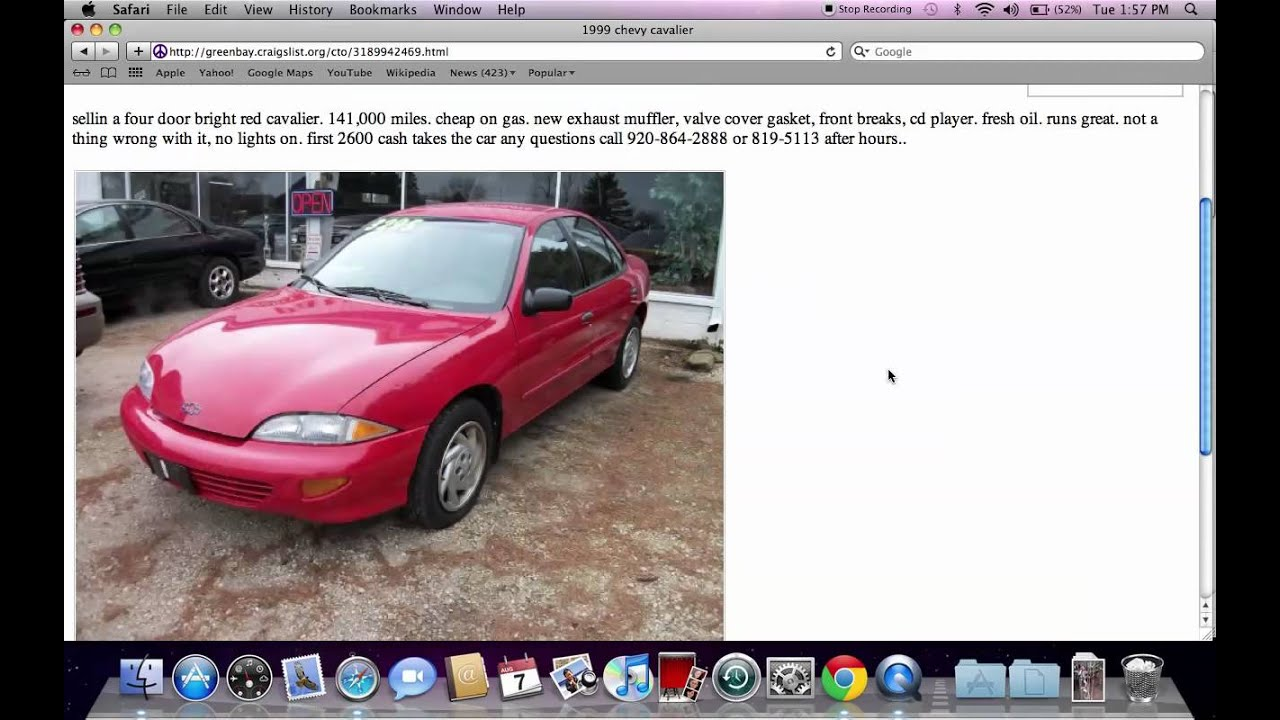 Craigslist Green Bay Wisconsin Used Cars Trucks And Minivans