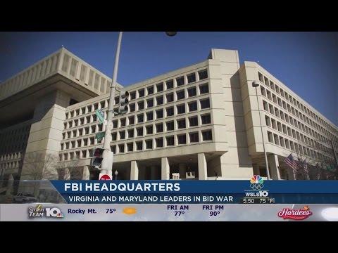Gov. McAuliffe in Bidding War to Get FBI Building to Move to Northern Virginia