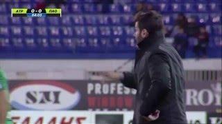 Atromitos vs Panathinaikos 1 0 Goal M Stojčev Greek Cup 10 February 2016 YouTube