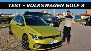 Yeni VW Golf 8 Test Sürüşü   Dizel Devri Bitiyor mu? (Sürpriz Sonlu)