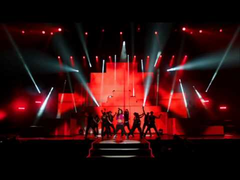 Cheryl Cole - Fight For This Love live [A Million Lights Tour DVD - Live At The O2]