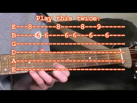 Halloween Theme Song - guitar tab lesson - Simple Version - YouTube