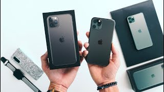 iPhone 11 Pro UNBOXING - Space Grey