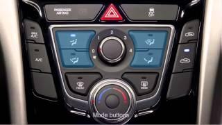 Elantra GT -- Керівництво Climate Control