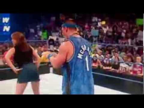 OMG: Stephanie Mcmahon has ass tapped by John cena