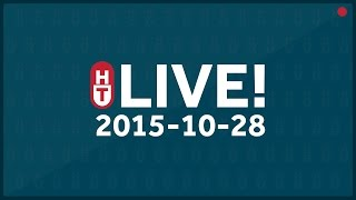 Oct. 28, 2015 - LIVE