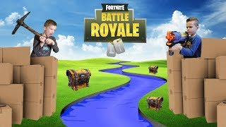 Twin vs Twin: Fortnite Battle Royale In Real Life 2