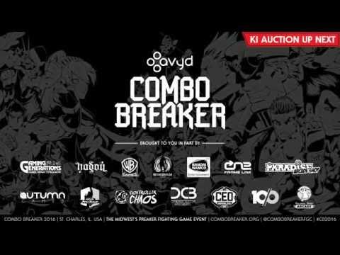 Killer instinct Combo breaker 2016 Auction and pool matches