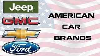 American Car Brands Names – List And Logos Of US Cars