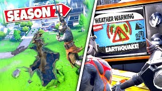 *NEW* MAJOR EARTHQUAKE *SPLITTING* AS EPIC GAMES RELEASES ITS NEXT WARNING! SEASON 7 UPDATE!: BR