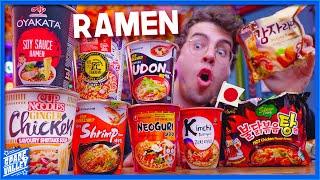 Qual è il miglior RAMEN ISTANTANEO? - Taste Test