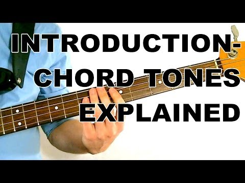 Walking Bass Lesson - Chord Tones Explained - L#1 Introduction