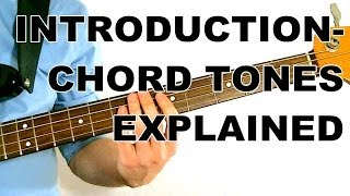 walking bass lesson chord tones explained l1 introduction