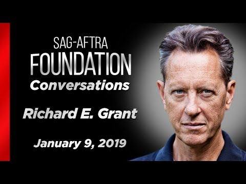 Conversations with Richard E. Grant