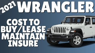 TOO MANY 2021 Jeep Wranglers Means AMAZING DEALS (Invoice Price, Lease Payment, Maintain and Insure)