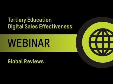 Tertiary Education Digital Sales Effectiveness