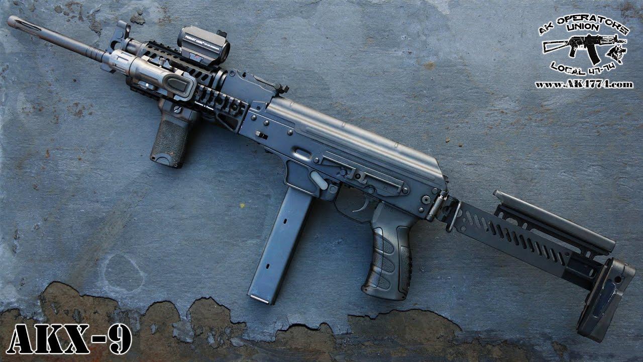 AK in 9mm - AKX 9 AMERICAN MADE AK!