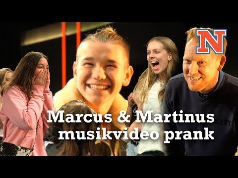 Marcus & Martinus pranker danske fans i Natholdet