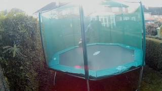 trampolining with the new apeman a70 action camera
