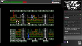 Castlevania II - Full rusty playthrough (NES via the AVS)
