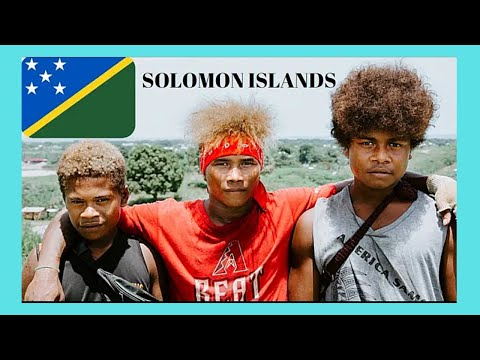 SOLOMON ISLANDS, Driving around the ISLAND of GUADALCANAL   (Pacific Ocean)