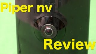 Piper NV Review, Wifi Surveillance Camera & Security System