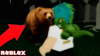 KILLED BY A BEAR! WHAT HAPPENS WHEN YOU FIND ANOTHER SECRET ENDING in ROBLOX CAMPING
