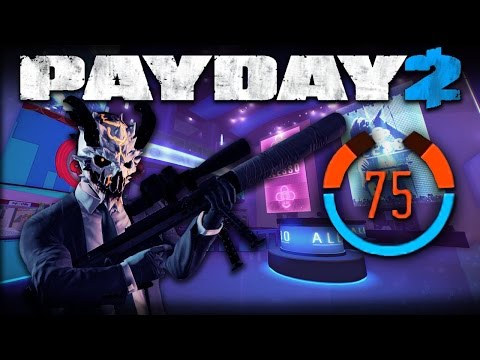 Alesso Heist - 75 Detection Risk (Payday 2 One Down Solo Stealth)