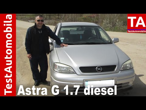 OPEL Astra G 1.7 diesel TEST - 2000