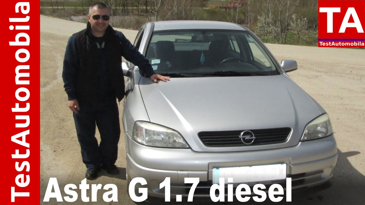 Opel Kadett 1.7D Engine sound - YouTube