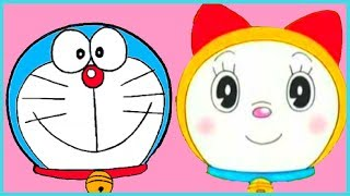 MASKS OF DORAEMON & DORAMI | Zebs Artbeat