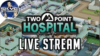 2 Point Hospital Live Stream 19th June 2019 - Hospital Tycoon Strategy Game thumbnail