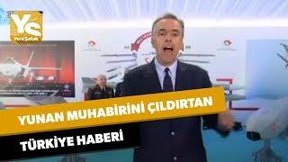 Yunan muhabirini çıldırtan Türkiye haberi