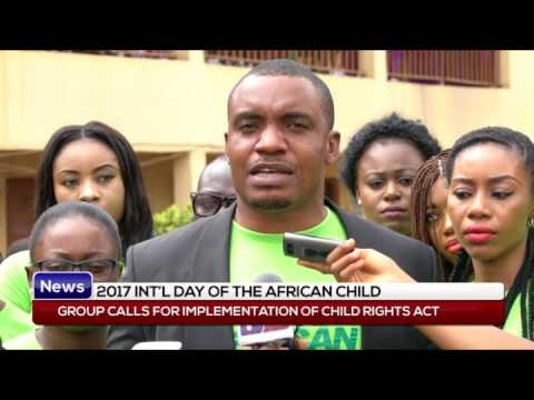 DAY OF THE AFRICAN CHILD: Group calls for implementation of child right act
