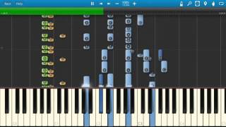 Queen - Tie Your Mother Down - Piano Tutorial - Synthesia