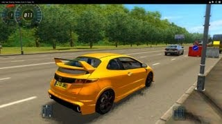 City Car Driving Honda Civic R-Type HD