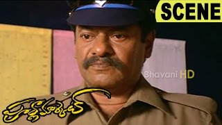 Rajkiran Transferred For Being Sincere Police - Emotional Scene    Poorna Market Movie Scenes
