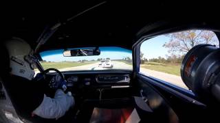 HSR GT350 HUTCHINSON ISLAND GROUP 5 RACE 10 29 16 - Vintage racing Mustang