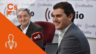 """Albert Rivera. Entrevista en """"Es la Mañana de Federico"""""""