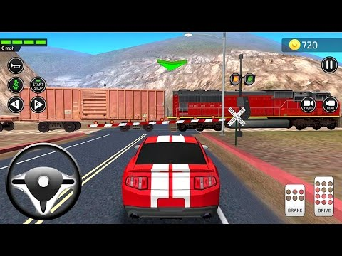 Driving Academy Simulator 3D (by Games2win) Android Gameplay [HD]