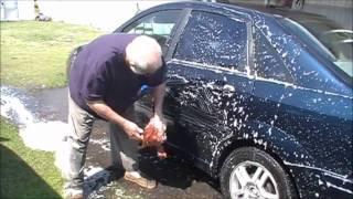 ANGRY GRANDPA WASHES CAR