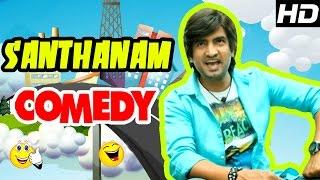 Santhanam Comedy Scenes - 2   Raja Rani Tamil Movie   Nazriya   Nayantara   Arya   Sathyaraj   Jai