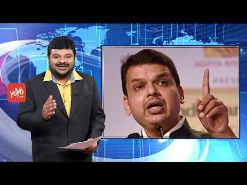 Maharashtra Chief Minister Devendra Fadnavis Chopper Crash-Lands In Latur....  YOYO TV CHANNEL .. !