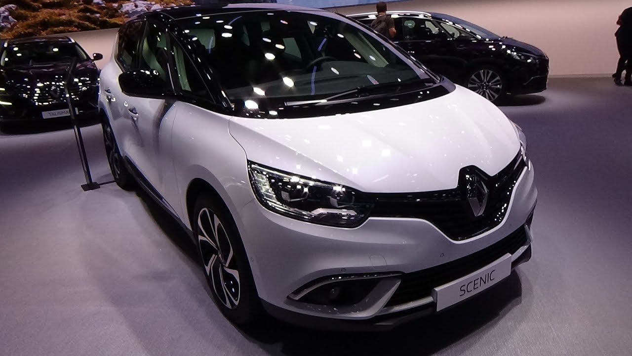 2019 renault scenic intens tce 140 exterior and interior paris auto show 2018 youtube