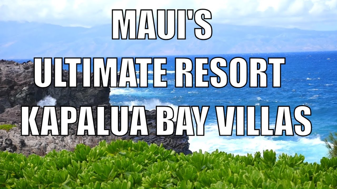 Kapalua Bay Villas B For Sale Maui Real Estate By Eric West - Luxury homes in maui