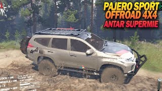 Offroad Pajero Sport 4X4 Bawa Indomie - Spintires Indonesia